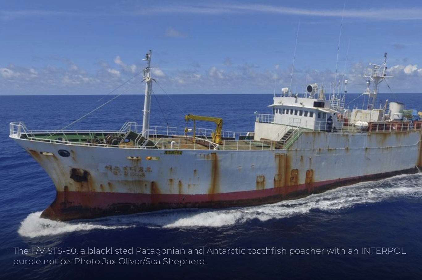 COLTO Hails Two Major IUU Toothfish Vessel Seizures; One in Liberia, One in Indonesia